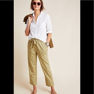 Frye x Anthropologie  Domi paperbag-waisted pants